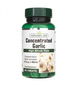 Natures Aid Czosnek skoncentrowany allicyna 2000 µg - 90 tabletek