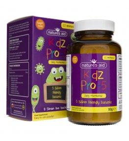 Natures Aid Kidz Pro-5 probiotyk w proszku - 90 g