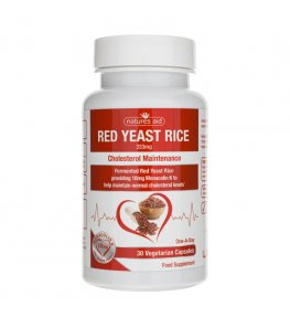 Natures Aid Red Yeast Rice 333 mg - 30 kapsułek