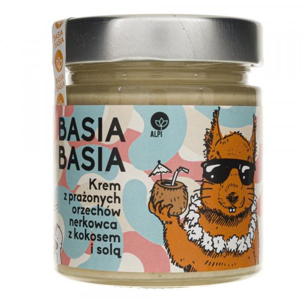Alpi Basia Basia Krem z prażonych orzechów nerkowca z kokosem i solą - 210 g