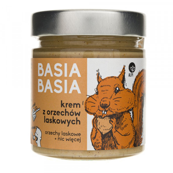 Alpi Basia Basia Krem z orzechów laskowych - 210 g
