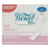 Vivicot Wkładki higieniczne z organicznej bawełny - 20 sztuk