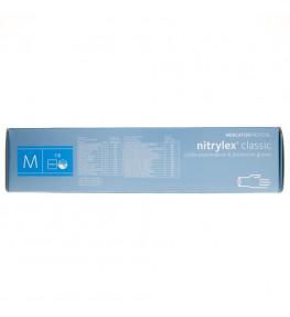 Mercator Rękawiczki diagnostyczne nitrylex® classic M - 100 sztuk
