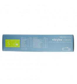 Mercator Rękawiczki diagnostyczne nitrylex® classic S - 100 sztuk