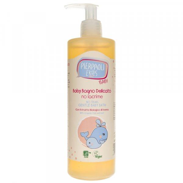 Pierpaoli Ekos Baby Delikatny płyn do kąpieli dla dzieci i niemowląt No Tears - 400 ml