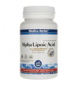 Medica Herbs Kwas Alfa Liponowy (ALA) - 45 kapsułek