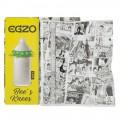Egzo Bee's Knees Prezerwatywa z wypustkami Soft - 1 sztuka
