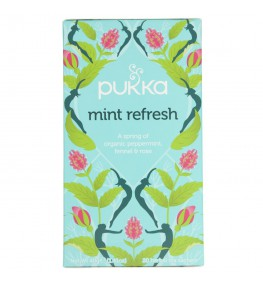 Pukka Herbata Mint Refresh Oczyszczająca - 20 saszetek