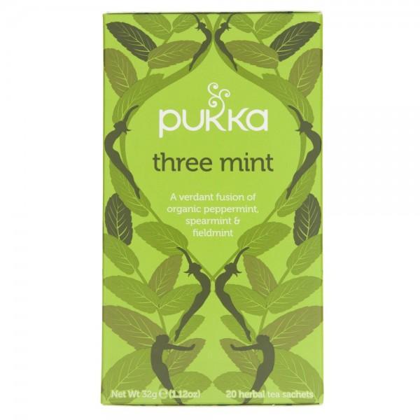 Pukka Herbata Three Mint Miętowa - 20 saszetek