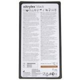 Mercator Rękawiczki diagnostyczne nitrylex® black XL - 100 sztuk