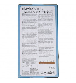 Mercator Rękawiczki diagnostyczne nitrylex® classic XL - 100 sztuk