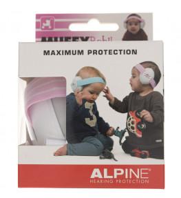 Alpine Muffy Baby Pink ochronniki słuchu dla niemowląt - 1 sztuka
