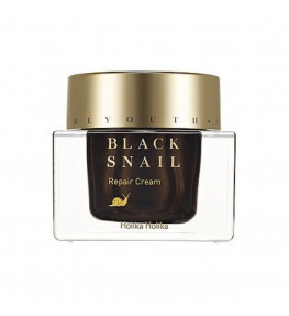 Holika Holika Black Snail Repair Cream Krem ze śluzem ślimaka - 50 ml