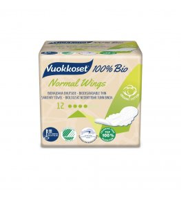 Vuokkoset Bio Podpaski ze skrzydełkami - 12 szt.