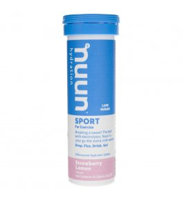 Nuun Sport Elektrolity Strawberry Lemon - 10 tabletek