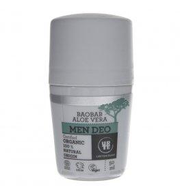Urtekram Dezodorant w kulce dla mężczyzn z aloesem i baobabem - 50 ml