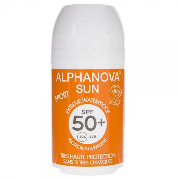 Alphanova Sun Sport Krem przeciwsłoneczny w kulce filtr SPF 50+ - 50 g