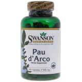 Swanson Pau d'Arco (lapacho czerwone) 500mg - 100 kapsułek