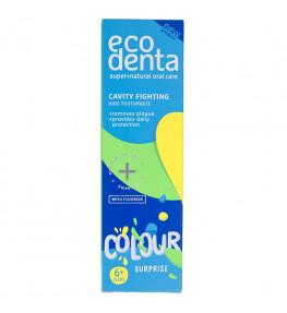Ecodenta Kolorowa niespodzianka Pasta do zębów dla dzieci - 75 ml