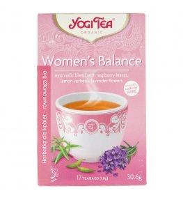 Yogi Tea Women's Balance Herbata dla kobiet - 17 saszetek