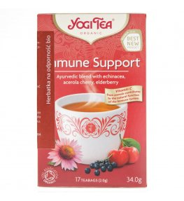 Yogi Tea Immune Support Herbata na odporność - 17 saszetek