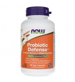 Now Foods Probiotic Defense - 90 kapsułek