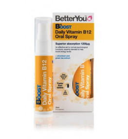 BetterYou Witamina B12 Boost Pure Energy w sprayu - 25 ml