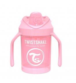 Twistshake Kubek niekapek z mikserem Różowy 4 m+ - 230 ml