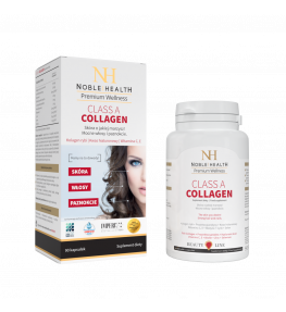 Noble Health Class A Collagen Kolagen Morski - 90 kapsułek