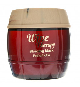 Holika Holika Red Wine Therapy Maseczka do twarzy na noc - 120 ml