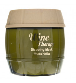 Holika Holika White Wine Therapy Maseczka do twarzy na noc - 120 ml