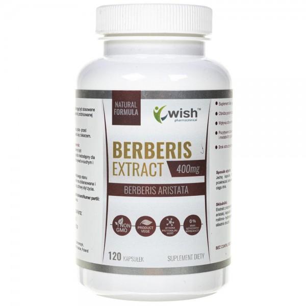 Wish Berberis 5:1 400 mg - 120 kapsułek