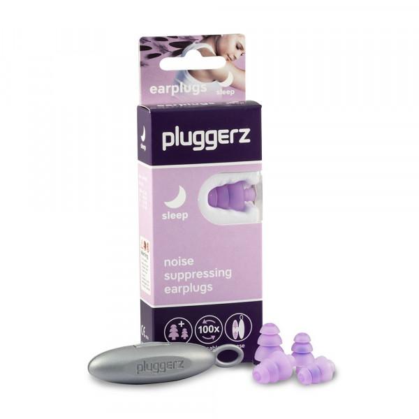 Pluggerz Uni-Fit Sleep zatyczki, stopery do spania - 4 sztuki