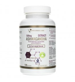 Progress Labs Ashwagandha Ekstrakt 500 mg - 120 kapsułek