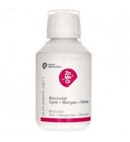 Invex Remedies Zn-Mn-Cr (Cynk+Mangan+Chrom) - płyn 150 ml