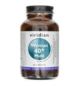 Viridian Multiwitamina dla kobiet 40+ - 60 kapsułek