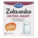 Vivo Zakwaska Entero do jogurtu - 2 fiolki po 0,5 g