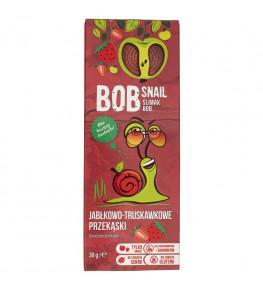 Bob Snail Przekąska jabłko-truskawkowa bez dodatku cukru - 30 g