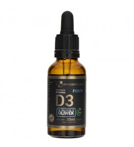 Progress Labs Naturalna Witamina D3 FORTE - 30 ml