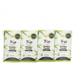 Cheeky Panda Chusteczki higieniczne kieszonkowe 10 sztuk - 8 opakowań