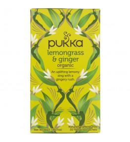 Pukka Herbata Lemongrass & Ginger - 20 saszetek
