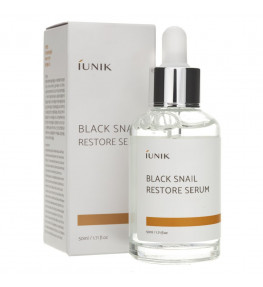 iUNIK Black Snail Restore Serum - 50 ml
