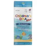 Nordic Naturals Children's DHA XTRA o smaku jagodowym - 60 ml