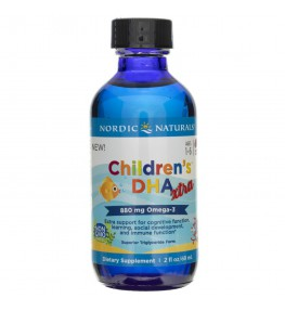 Nordic Naturals Children's DHA XTRA o smaku jagodowym - 60 ml