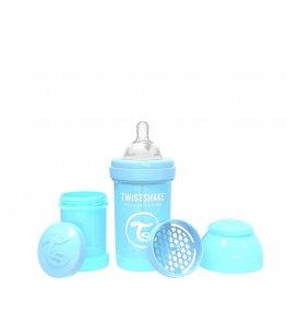 Twistshake Butelka antykolkowa Niebieska - 180 ml