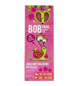 Bob Snail Przekąska jabłkowo-malinowa bez dodatku cukru - 30 g