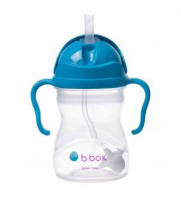 B.Box Bidon ze słomką Kobaltowy - 240 ml
