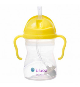 B.Box Bidon ze słomką Cytrynowy - 240 ml