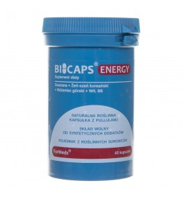 Formeds Bicaps Energy - 60 kapsułek