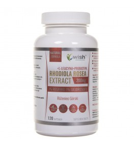 Wish Rhodiola Rosea Extract 200 mg - 120 kapsułek